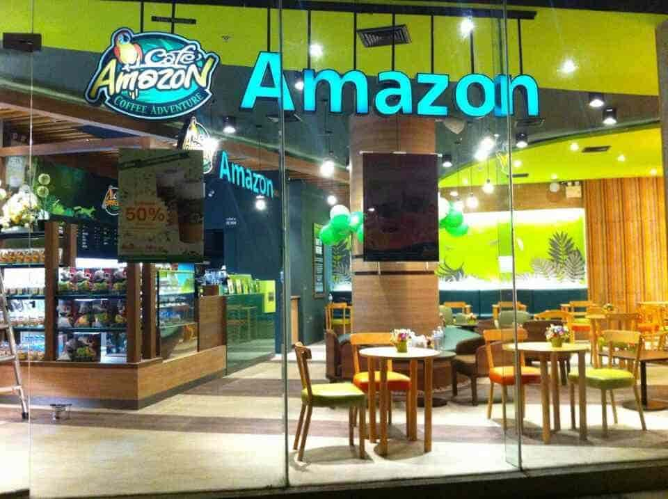 Amezon Center cafe